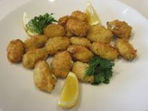 Crumbed Mussels