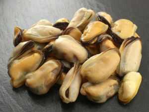 Mussel meats